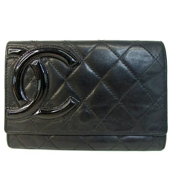 a7ab91d91ef3 CHANEL Bags | Cambon Lambskin Matelasse Clutch Wallet | Poshmark